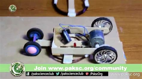 wireless electric car experimental science project