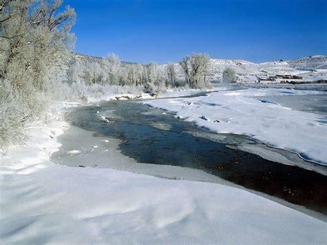 frozen river wallpaper wallpaper frozen river jpg