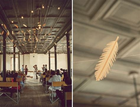 The Ceiling The Feathers top 10 unique diy feather tutorials ideas for your wedding