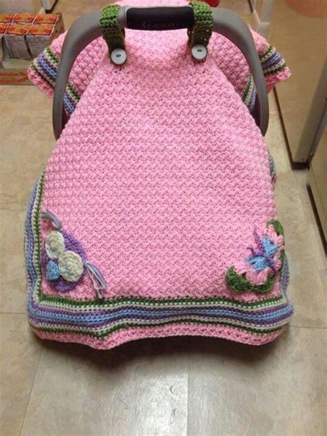 baby car seat blanket crochet pattern pink car seat cover crochet car seats