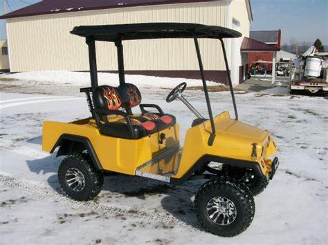 Jeep Golf Cart 2015 Customized Jeep Golf Cart Golf Cart With Jeep Like