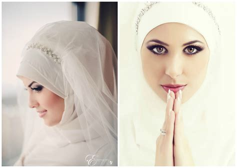 Simple Hijab Tutorial For Wedding | simple bridal hijab tutorial youtube