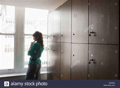 In Locker Room by In A Locker Room Stock Photo Royalty Free Image