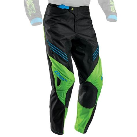 thor t 30 motocross boots motocross trousers thor phase hyperion black green pant