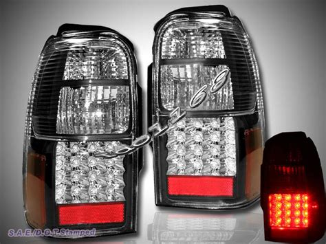 2000 4runner led lights 1996 2000 toyota 4runner sr5 black led lights ebay