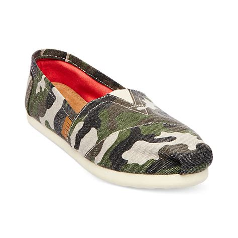 camo flats shoes madden glories flats in green camo lyst