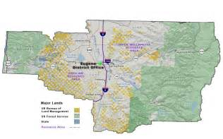 Blm Land Map Oregon by Reading The Washington Landscape Washington Vs Oregon