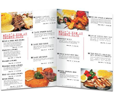 menu layout ideas for cafe restaurants menu design ideas images