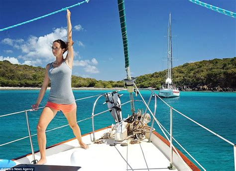 living on a boat with cat matt and jessica johnson quit their jobs sold their