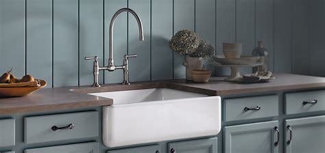 Kitchen With Farm Sink Kohler Kitchen Sinks Kitchen