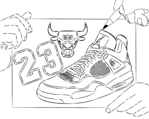 basketball shoe drawing new calendar template site