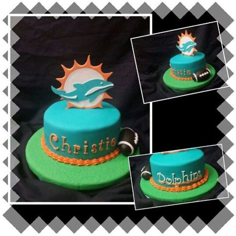 1000 images about miami dolphins cakes on