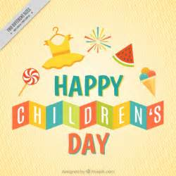 happy children s day vector free
