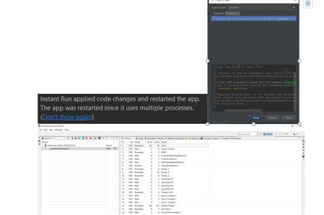 gradle android gradle android studio instant run restarts whole app every time stack overflow