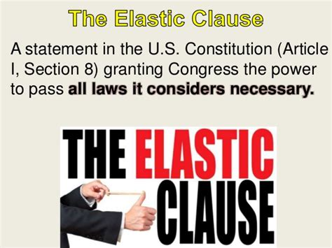 article 8 section 5 exles of article 1 section 8 clause 5