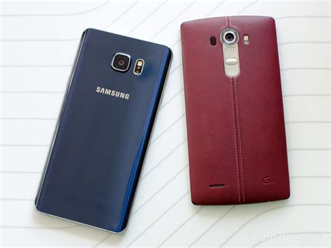 Soft Lg G4 Note comparison galaxy note 5 versus lg g4 android central