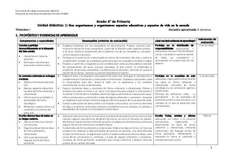 unidad didactica 1 del segundo grado de primaria matematica unidades didacticas 2 grado primaria en pdf 6 unidad 1