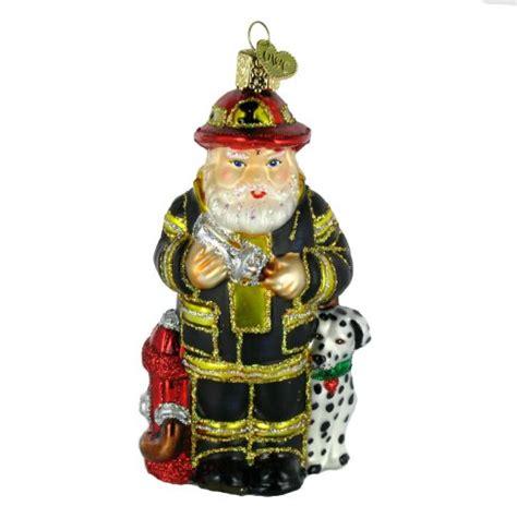 old world christmas fireman santa ornament christmas