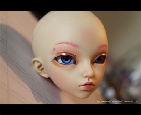 jointed doll eyelashes my third bjd makeup by mysweetqueen dolls on deviantart