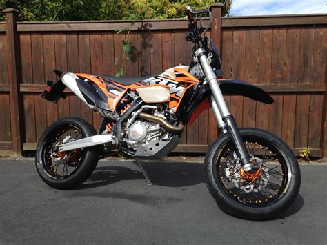 Used Ktm Supermoto Wheels 2013 Ktm 500 Exc Supermoto With Stock Dirt Wheels