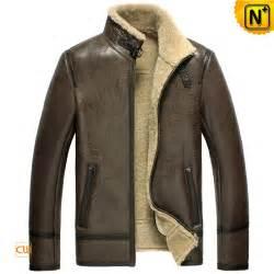 Leather sheepskin jacket mens cw856077 www cwmalls com