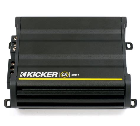 Kicker Cx 1200 1 kicker cx600 1 car stereo cx class d mono 1200 watt