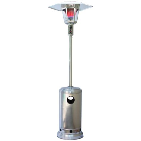 How To Light A Patio Heater 15kw Gas L Silver Patio Heater