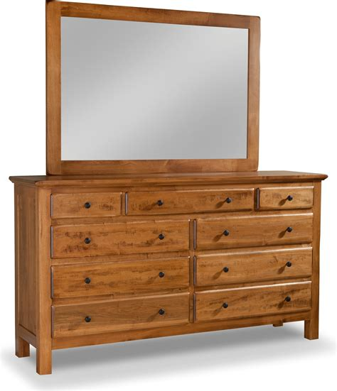 tall and wide dresser lewiston 9 drawer double dresser w tall wide mirror by