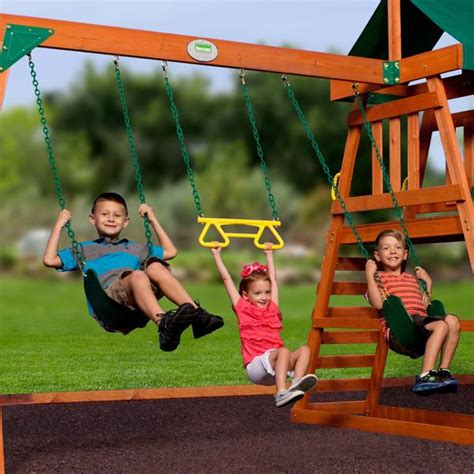 backyard discovery prescott cedar wooden swing set prescott wooden swing set playsets backyard discovery