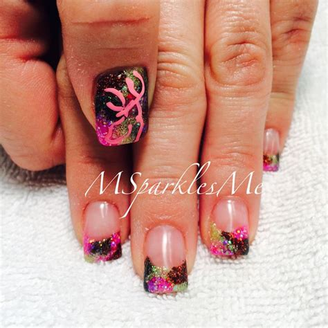 Browning Camo Nail Designs 17 best ideas about browning camo nails on