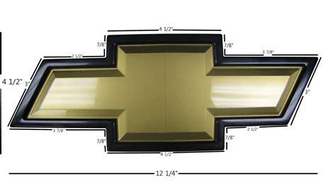 chevy bow tie template genuine chevrolet chevy grille bowtie emblem silverado