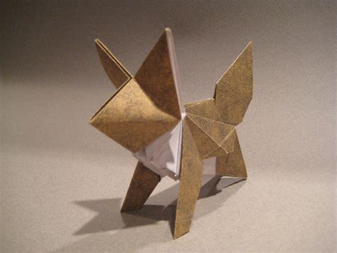 Fox Origami - flickr photo