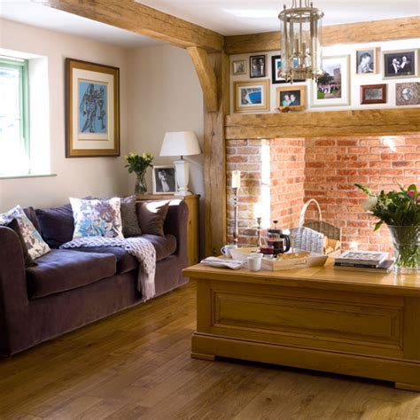 country cottage living room ideas warm living room cottage living room ideal home