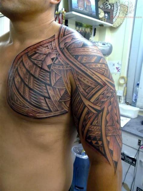half chest tattoo 55 most popular tattoos on sleeve and half sleeve
