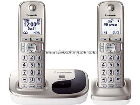 Panasonic Kx Tgd310 Telpon Wireless Cordless Phone Murah jual panasonic cordless wireless telepon kx tgd212n