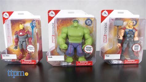 marvel toybox hulk thor iron man disney store