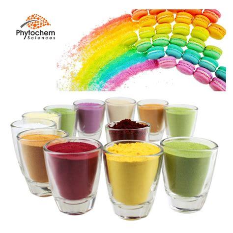 bulk organic pigment colorant natural food grade colors