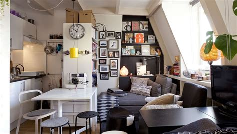ikea studio apartment love the use of space pinteres