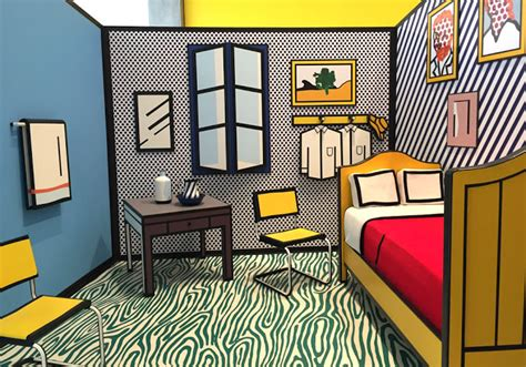 roy lichtenstein bedroom spygirl january 2017