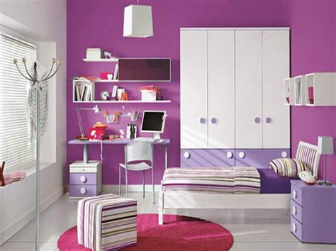 homeofficedecoration purple color room idea