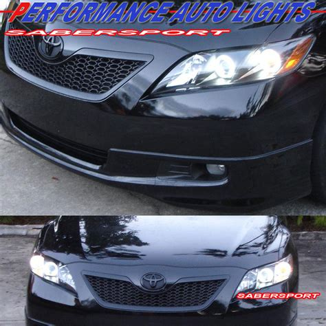 toyota camry 2009 headlights 2007 2009 toyota camry ccfl halo projector headlights quot l