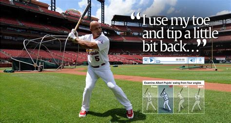 best baseball swing mechanics 2 things pujols does to hit the outside pitch train baseball