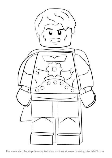 Learn How to Draw Lego Hyperion (Lego) Step by Step
