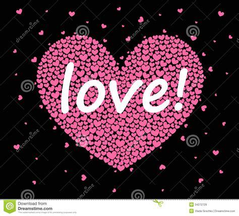 imagenes corazon en negro corazones en un fondo negro im 225 genes de archivo libres de