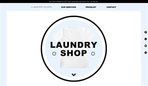 website templates for laundry website templates free html5 website templates wix page 7