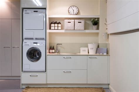 Laundry Cabinet Flat Pack Burleigh Heads Laundry Traditional Laundry Room