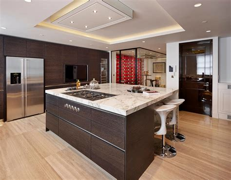 flat kitchen cabinets flat panel kitchen cabinets kitchen contemporary with bar