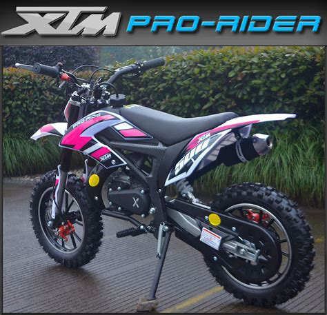 50cc motocross bike kids xtm pro ride 50cc petrol dirt bike childs new mini