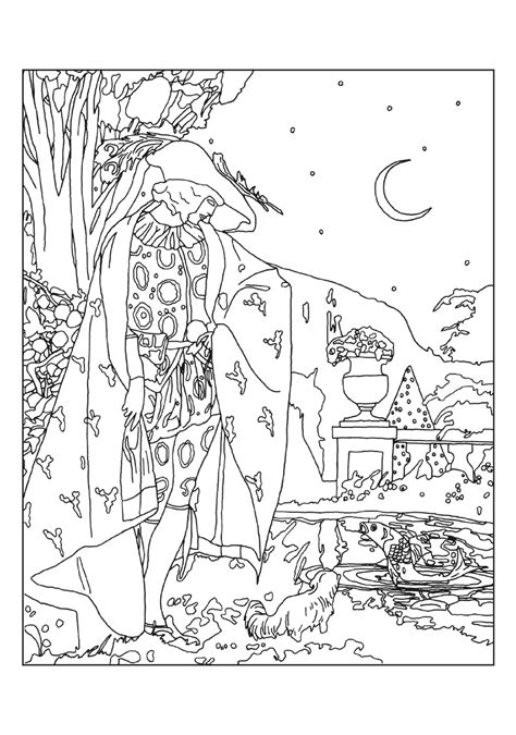 coloring book ep umberto brunelleschi stories from once upon a time