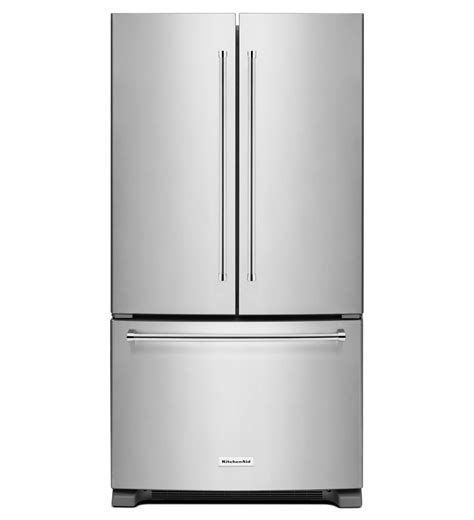 36 door refrigerator kitchenaid 174 20 cu ft 36 inch width counter depth